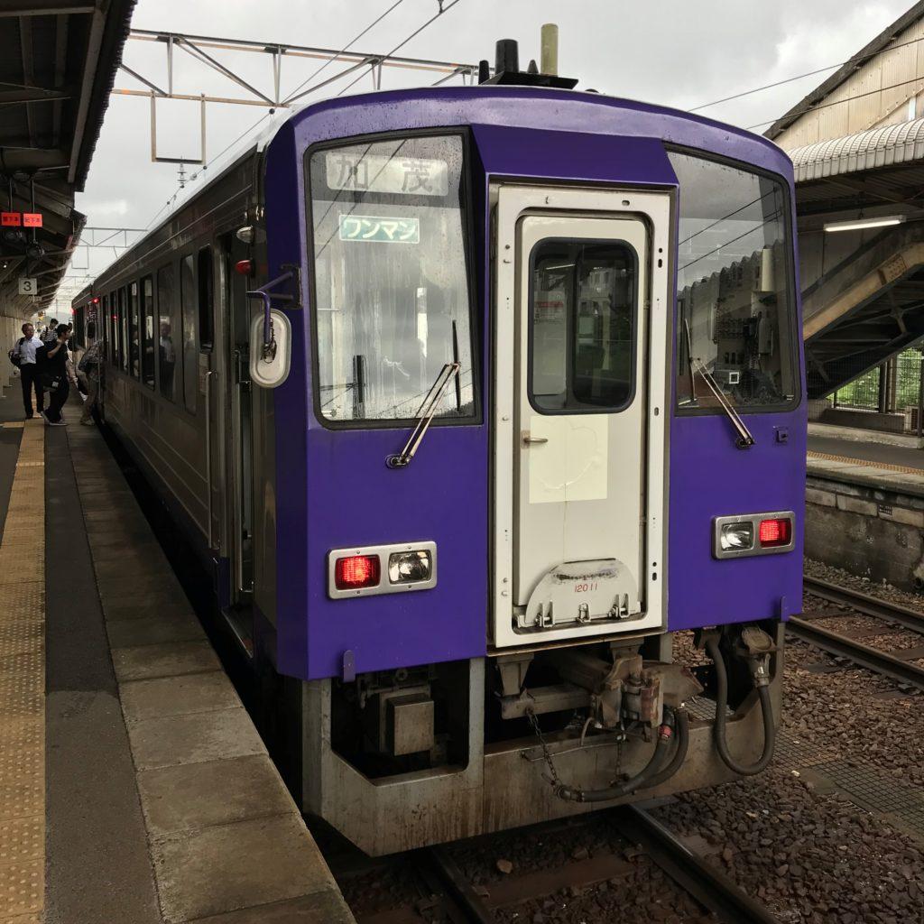 関西本線キハ120