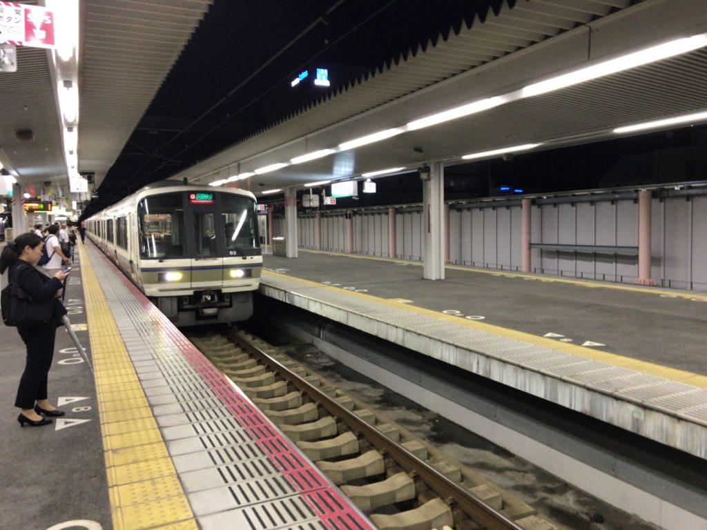 大阪環状線区間快速大阪行き