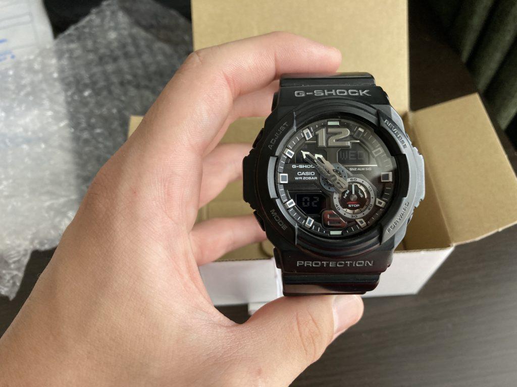 カシオ 腕時計 電池 交換