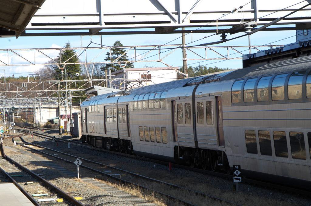 E215系小淵沢にて