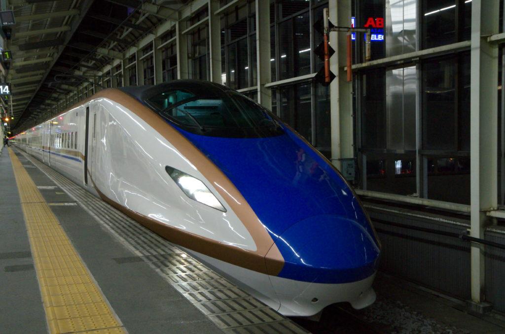E7系(高崎駅にて)