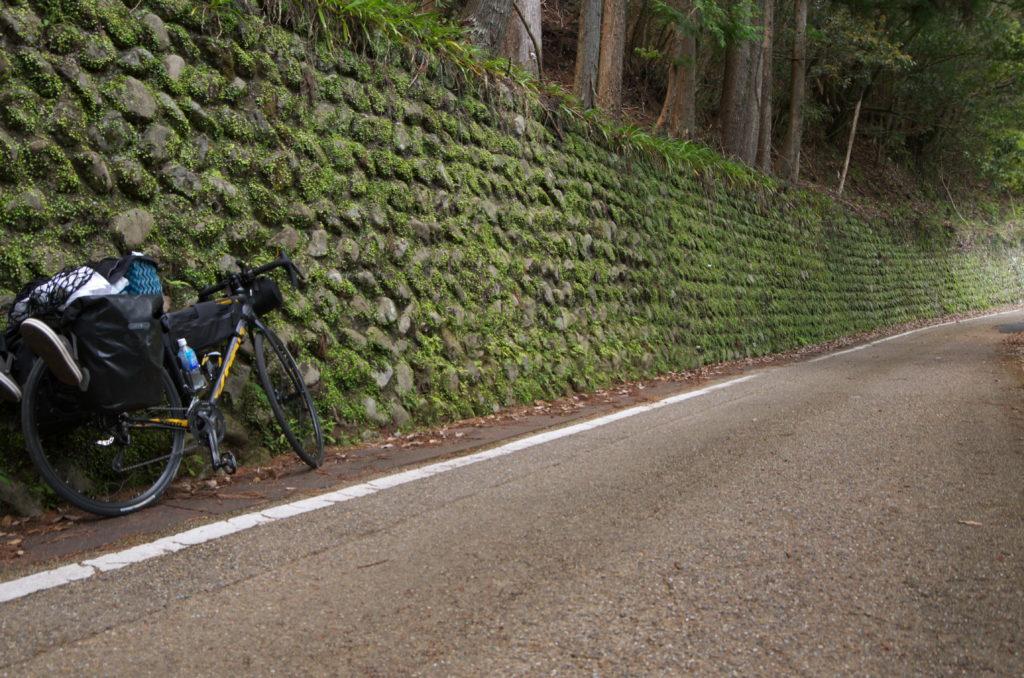 熊野古道を自転車で走る