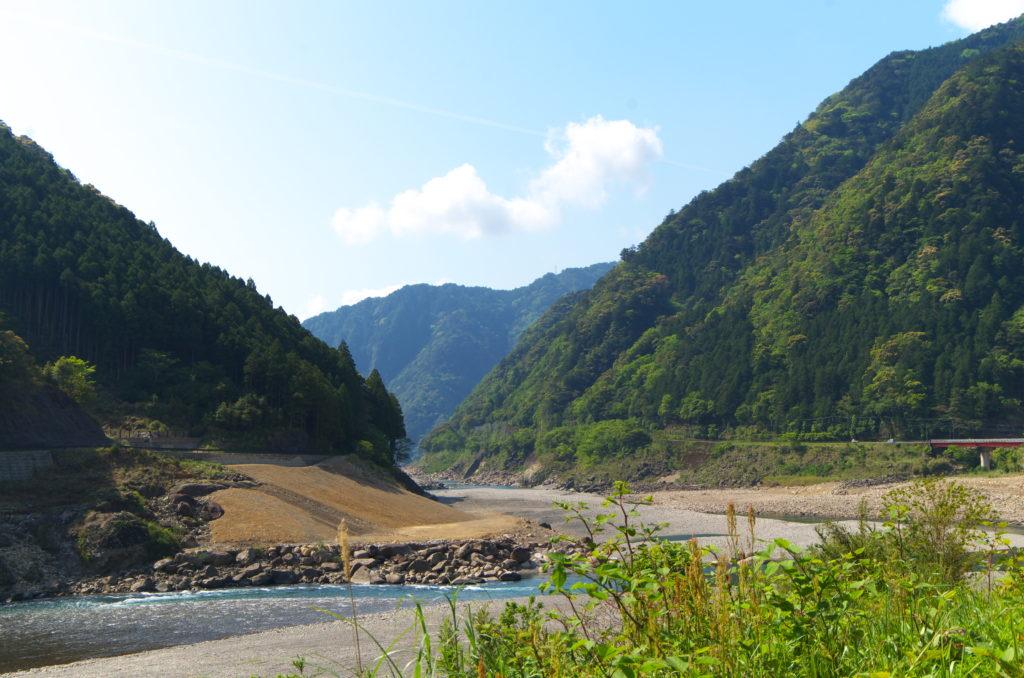 道の駅瀞峡街道熊野川