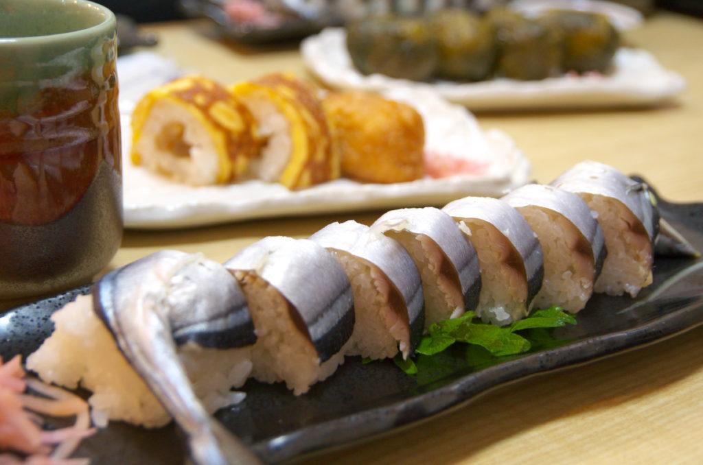 徐福寿司のサンマ寿司