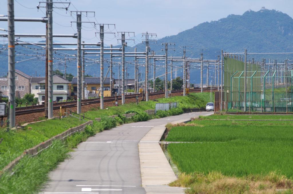 JR東海道本線 東板谷沖踏切