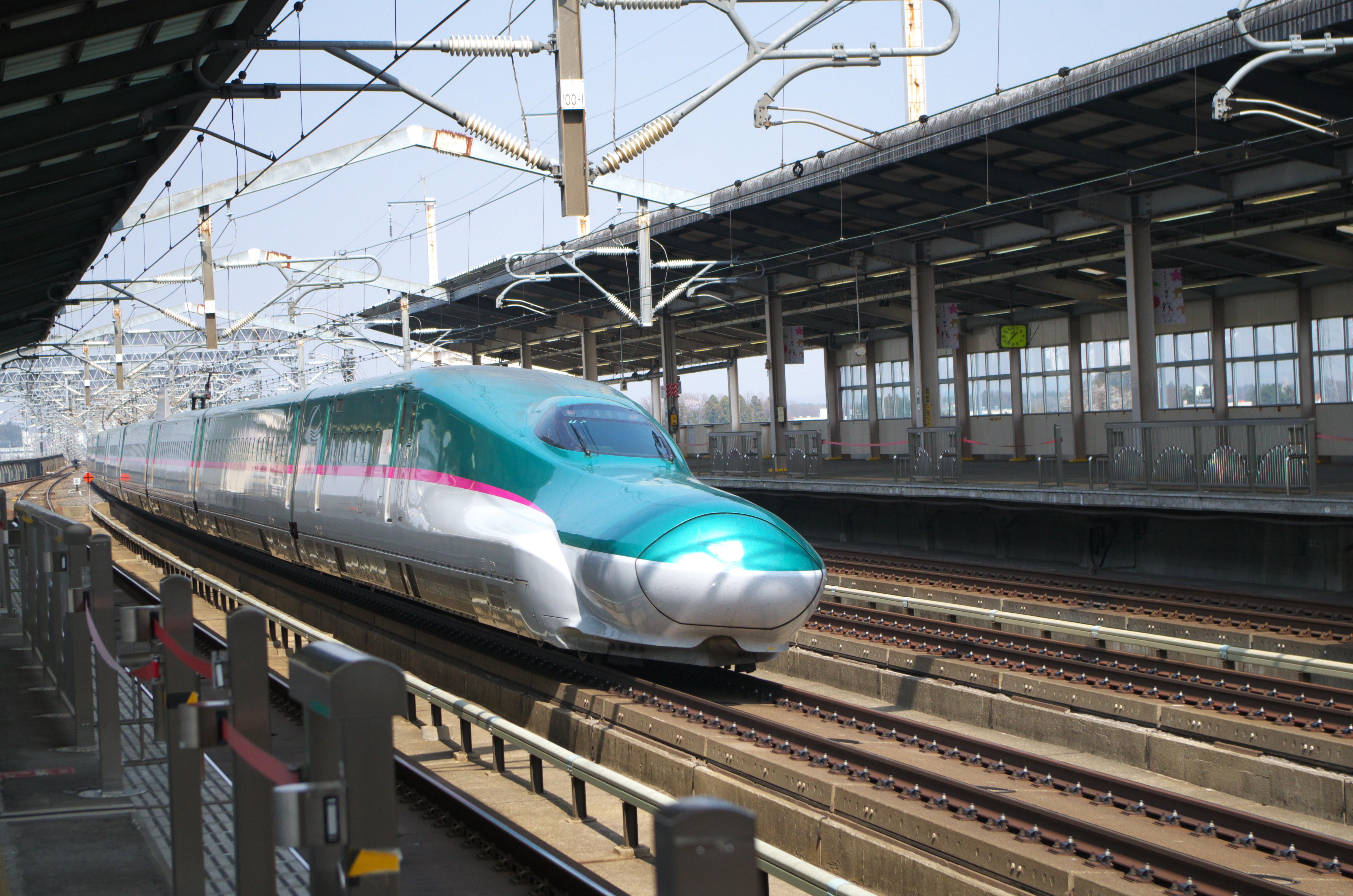 鉄道写真】那須塩原で高速通過する新幹線を撮影!|H5系&E6系&E2系