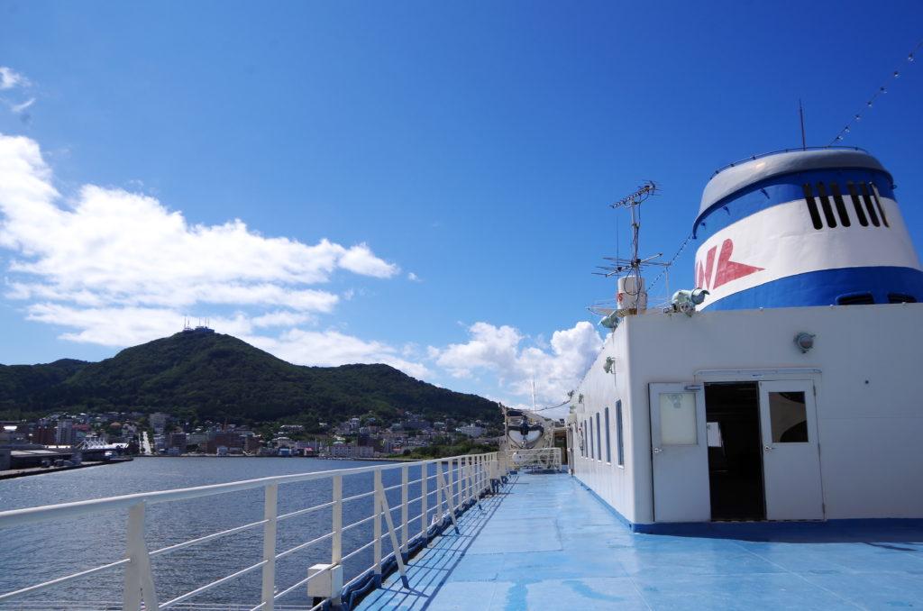 函館山と青函連絡船記念館